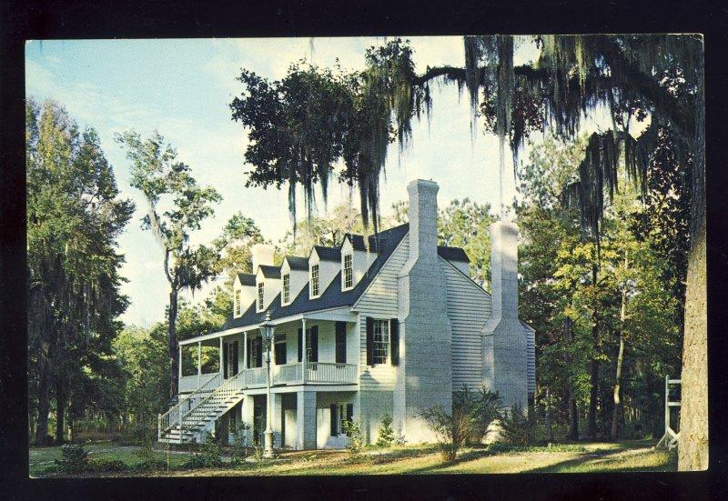 Savannah, Georgia/GA Postcard, Midway Colonial Museum, US Route 17