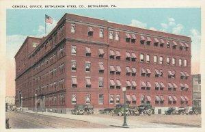 BETHLEHEM , Pennsylvania, 1900-10s ; Bethlehem Steel Office