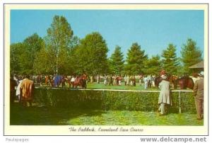 The Paddock, Keenland Horse Race Course, Lexington, Kentucky, KY, Chrome