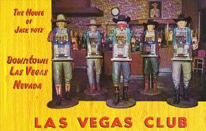 Nevada Las Vegas The Lucky Las Vegas Club One Armed Bandits