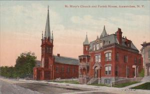 St Mary's Church and Parish House Amsterdam New York