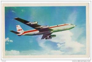 Trans World Airlines TWA SuperJet Jet airplane, 40-60s