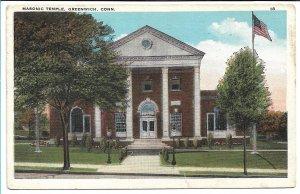 Greenwich, CT - Masonic Temple - 1930