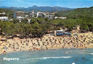Spain Mallorca Baleares Paguera Playa de Tora Vista aerea Beach