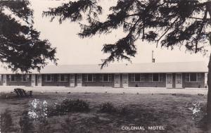 RP: Colonial Motel , RICHVALE , Ontario , Canada , PU-1958