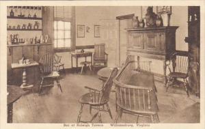 Bar At Raleigh Tavern Williamsburg Virginia Albertype