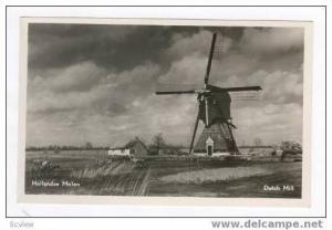 Windmill,  Netherlands, 1940s