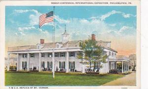 Y.M.C.A. Replica of Mt. Vernon, Sesqui-Centennial International Exposition, P...