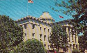 The North Carolina State Capitol At Raleigh North Carolina
