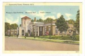 Community Center, Gastonia, North Carolina, 1948