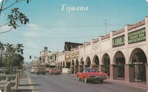 TIJUANA, Mexico, 1950-1960's; Revolucion avenue