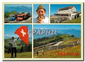 Modern Postcard Rigi Kulm Switzerland Zentralschweiz