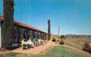 HANS' DANISH RESTAURANT Escondido, CA San Diego Roadside c1950s Vintage Postcard