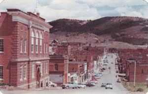 CRIPPLE CREEK, Colorado, 1940-1960's; Teller County Court House, Classic Cars...
