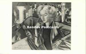 Dutch Symbolist JAN TOOROP - Bleeding Belgium (1940s)
