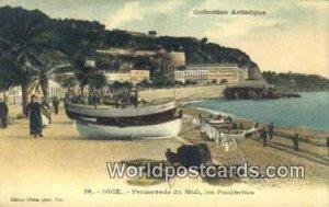 Promenade du Midi Nice, France, Carte, Unused