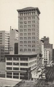 SAN FRANCISCO , California , 1900-10s; Whittell Building, 166 Geary St.