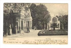 Palermo , Italy, PU-1906   Villa Giulia