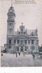 Exposition Universelle Bruxelles 1910 Le Pavillon de la ville de Bruxelles