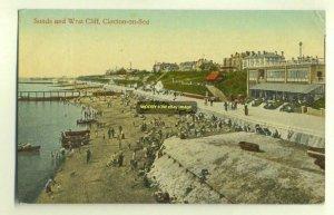 tp2789 - Sands & West Cliff , Clacton-on-Sea , Essex - postcard