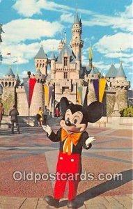 Mickey Mouse Disneyland, Anaheim, CA, USA Unused
