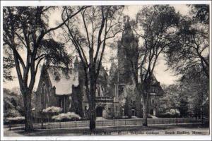 Mary Lyon Hall, Mt Holyoke College, South Hadley MA