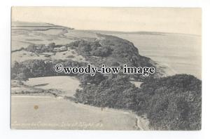 h1706 - Isle of Wight - Looking down onto Luccombe Common & Coastline - Postcard