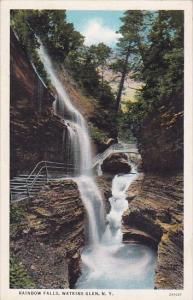 New York Watkins Glen Rainbow Falls