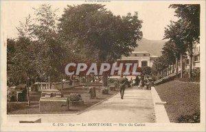 Old Postcard Le Mont Dore Casino Park