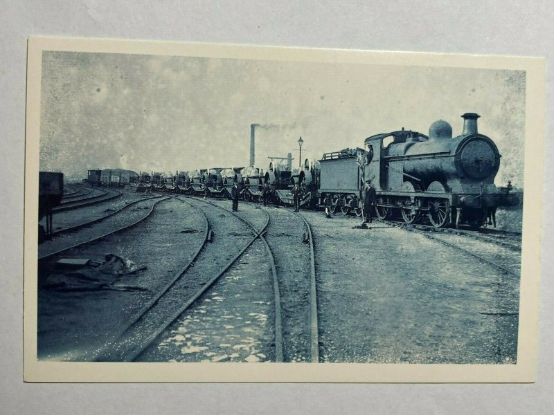 NOSTALGIA REPRODUCTION POSTCARD - LOCOMOTIVE 1924  (KK1583)