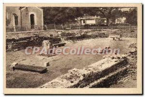 Old Postcard Andernos The Gallo Roman ruins
