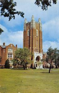 Oklahoma City University~United Methodist~Gothic Revival Main & Grounds 1956
