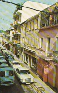 Martinique Fort De France Victor Hugo Street Shopping District