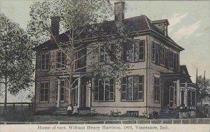 Indiana  Vincennues Home Of Gov William Henry Harrison 1804