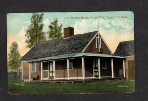 MA Garrison House Genoa Club TYNGSBORO MASS Massachusetts POSTCARD PC