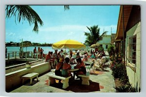 Treasure Island FL- Florida, Cypress Village Apartments, Chrome Postcard