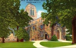 North Carolina Winston Salem St Paul's Episcopal Church
