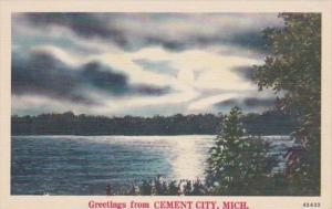 Michigan Greetings From Cement City