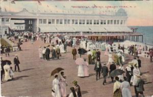 New Jersey Asbury Park Boardwalk and Casino 1912