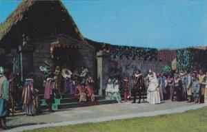 A Scene From Lost Colony Drama, Manteo, N.C, 1940-1960s