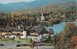 Manoir Saint-Castin,  Lac Beauport,  Quebec,  Canada,  PU_ 40-60s