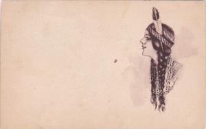 Beautiful Indian Maiden 1911