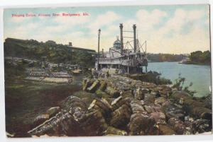 Shipping Cotton, Alabama River, Montgomory AL