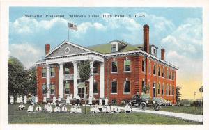 A6/ High Point North Carolina NC Postcard c1915 Methodist Prot. Children's Home
