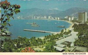 Scenic view,Base Naval De Icacos,Acapulco,Gro,Mexico,PU-40-60s