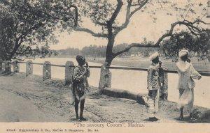 MADRAS, India , 1900-10s ; The savoury Cooum