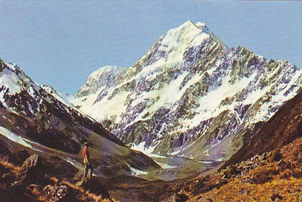 New Zealand Mount Cook New Zealand's Highest Mountain