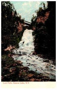 New York  Lodi Falls Seneca lake
