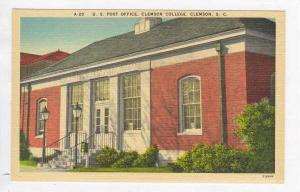 Post Office, Clemson College, South Carolina, 30-40s