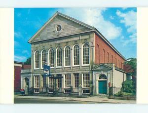 Unused Pre-1980 MUSEUM SCENE Salem Massachusetts MA hs9636